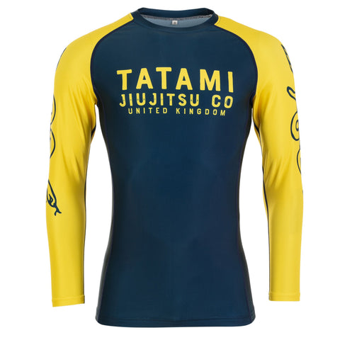 Supply Co Navy Long Sleeve Rash Guard