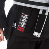 Kids Roots Jiu Jitsu Gi - Black  Tatami Fightwear Ltd.  tatamifightwearro.myshopify.com BJJ MALL