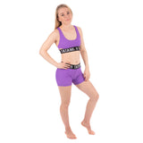 Ladies Purple Minimal Bra