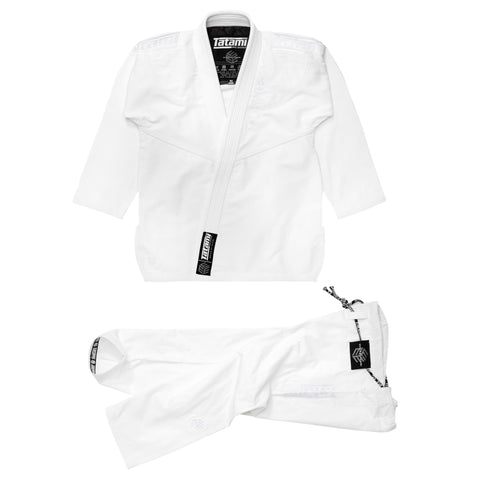 Estilo Black Label Gi - White on White
