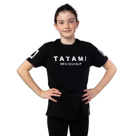 Kids Katakana T-Shirt Black