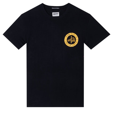 Deep Pan Jiu Jitsu Organic T-Shirt - Black