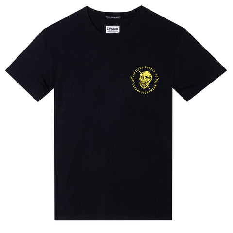 Skull Shock Organic T-Shirt - Black