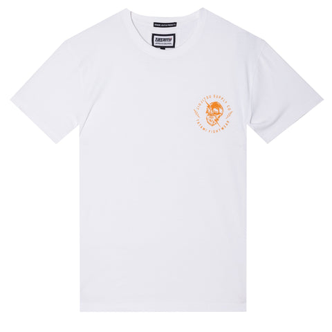 Skull Shock Organic T-Shirt - White