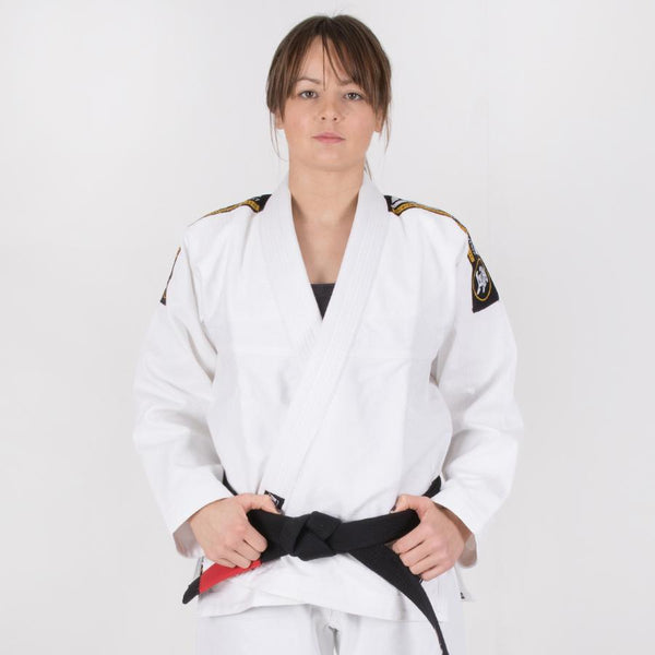 Ladies Nova Absolute White Gi  Tatami Fightwear Ltd. BJJ GI tatamifightwearro.myshopify.com BJJ MALL