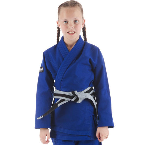 Kids Roots Jiu Jitsu Gi - Blue  Tatami Fightwear Ltd.  tatamifightwearro.myshopify.com BJJ MALL