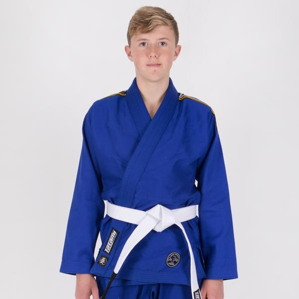 Kids Nova Absolute Blue Gi  Tatami Fightwear Ltd. BJJ GI tatamifightwearro.myshopify.com BJJ MALL