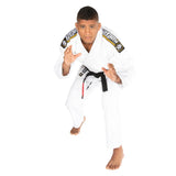 Nova Absolute White Gi  Tatami Fightwear Ltd. BJJ GI tatamifightwearro.myshopify.com BJJ MALL