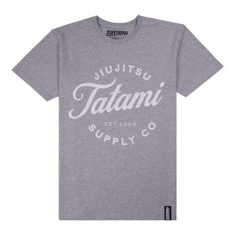 Classic Logo T-Shirt - Light Grey  Tatami Fightwear Ltd.  tatamifightwearro.myshopify.com BJJ MALL