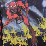 Tatami x Iron Maiden Number of the Beast Rash Guard  Tatami Rash Guard tatamifightwearro.myshopify.com BJJ MALL