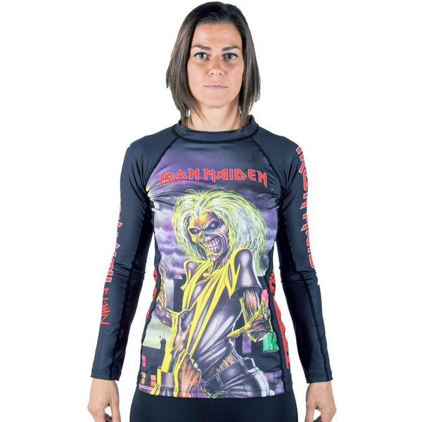 Ladies Tatami x Iron Maiden Killers Rash Guard  Tatami Rash Guard tatamifightwearro.myshopify.com BJJ MALL