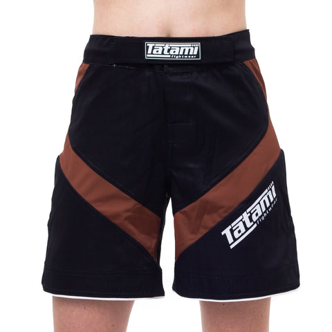 Ladies IBJJF 2020 Ranked Dynamic Fit shorts - Brown