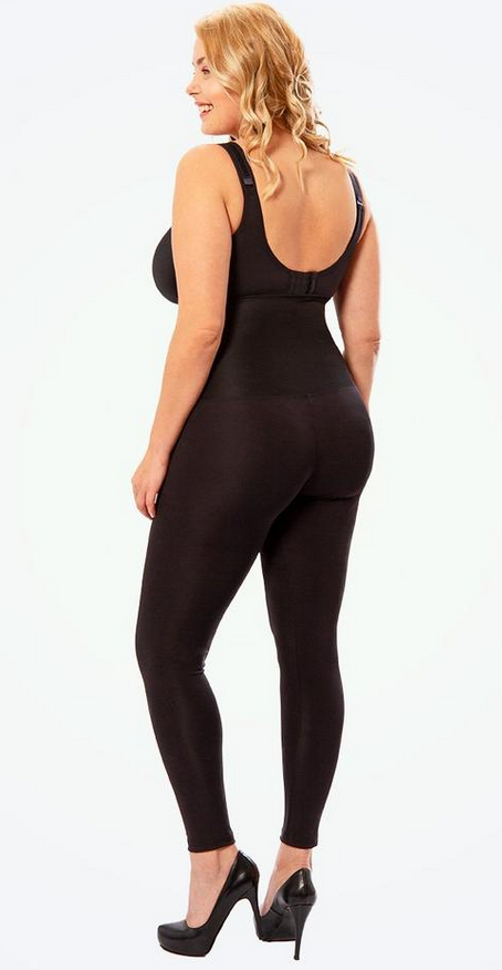 legging ventre plat