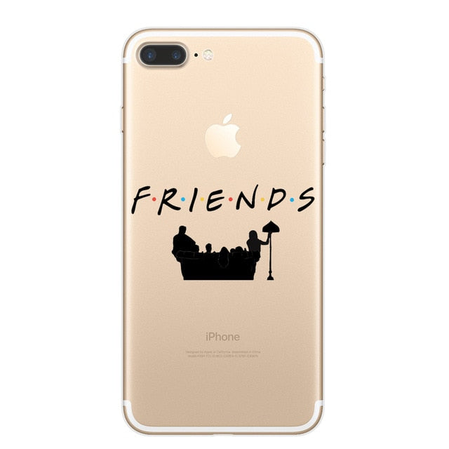 F.R.I.E.N.D.S Shadow Clear Case