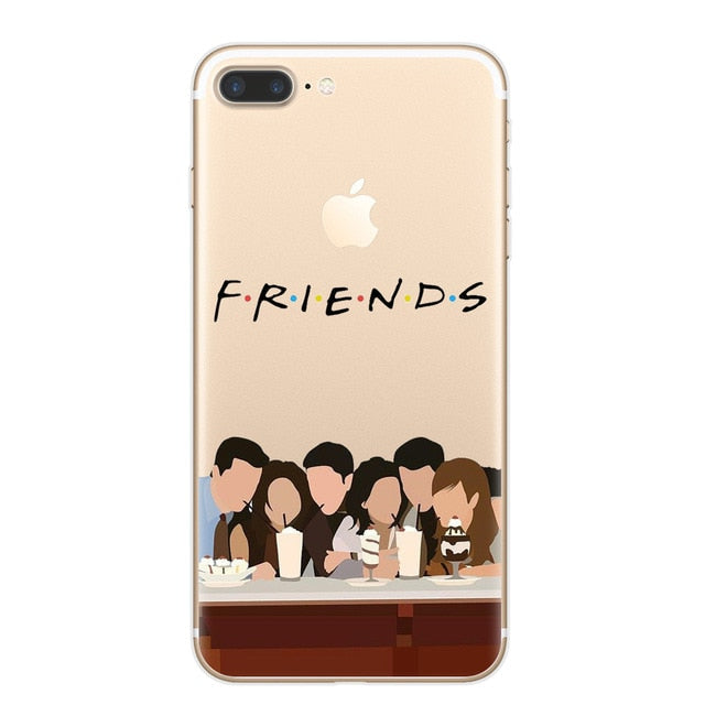 F.R.I.E.N.D.S. Vector Clear Case