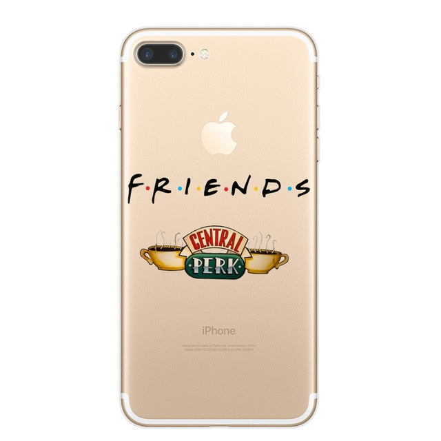 F.R.I.E.N.D.S. Central Perk Clear Case