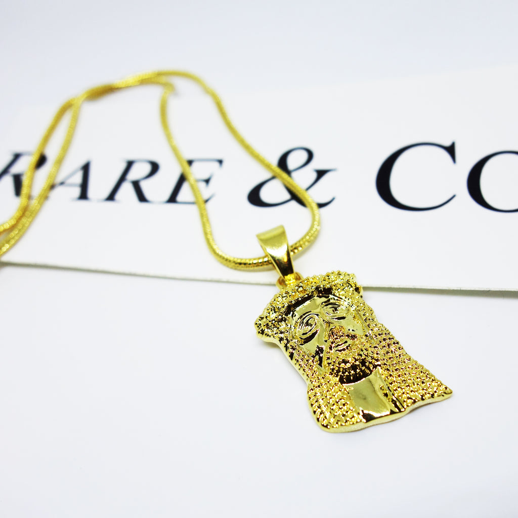 NEW MICRO GOLD JESUS PIECES ARE NOW AVAILABLE