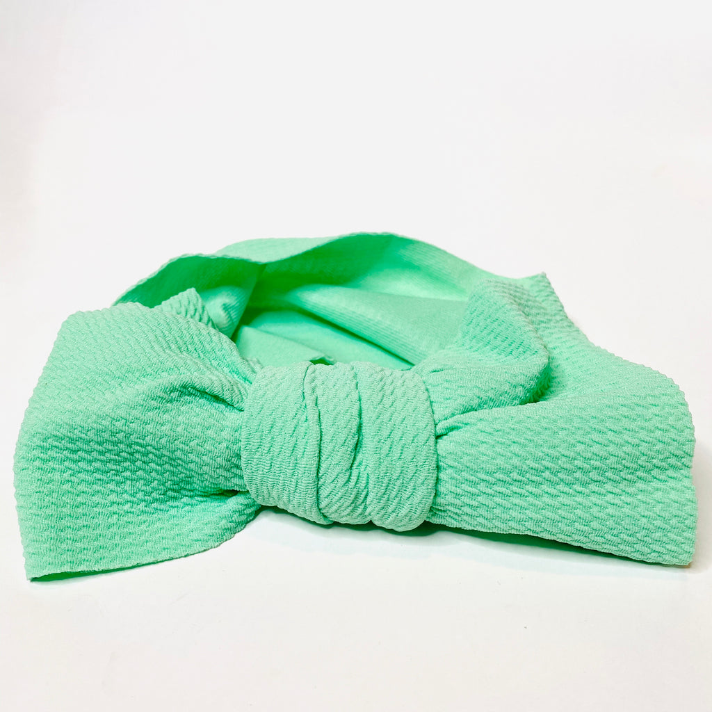 Bubble Headband - Mint Green