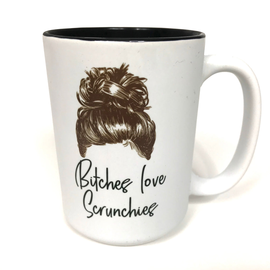 """Bishes Love Scrunchies"" Mug"