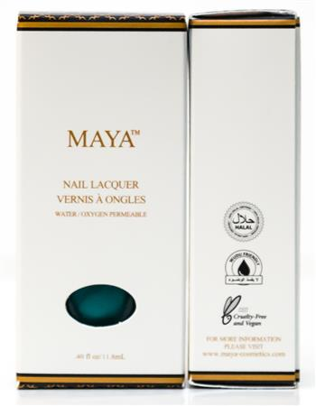 MAYA WUDU FRIENDLY NAIL POLISH - TOP COAT GLITTER