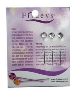 FIRDEVS HIJAB PINS PACK - CLEAR