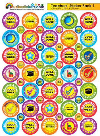 TEACHERS STICKER PACK 1 X 236