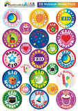 EID MUBARAK STICKERS PACK -84