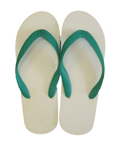 HAJJ OR UMRA FLIP FLOP SLIPPERS GREEN