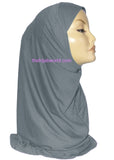 AL-AMIRA HIJAB 1 PC. -GREY