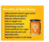 PURE RAW NATURAL LOCAL HONEY - 454G