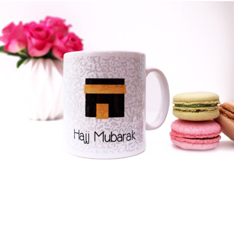 HAJJ MUBARAK WONDERFUL GIFT MUG