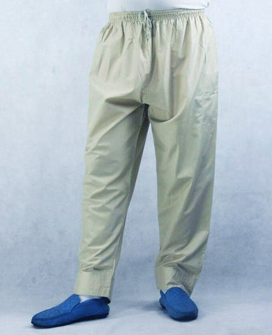 MENS UNDER THOBE TROUSERS/PANTS AH- KHAKI