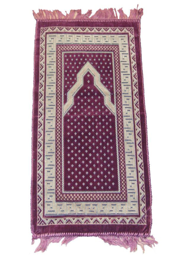 CHILDREN'S PRAYER MAT - DUSKY PINK