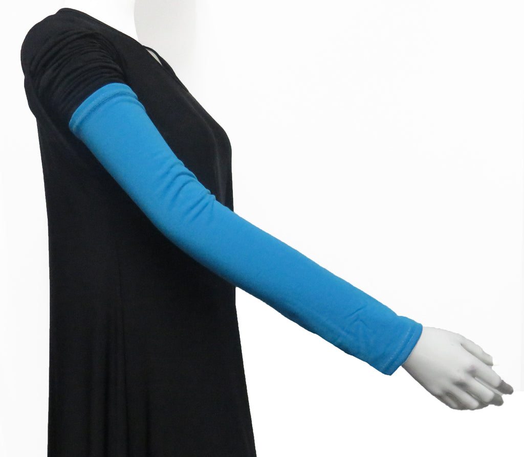 Extra Long Arm Cover/Sleeves -Turquoise