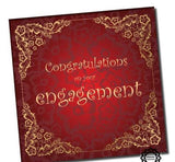 Engagement Islamic Card -  Red  WWC026