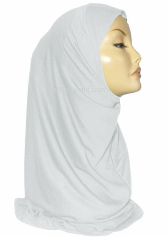 AL AMIRA HIJAB 1 PC. WHITE