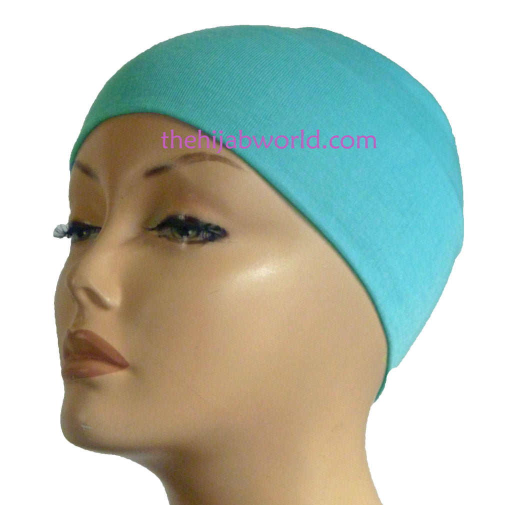 Wide Headband Plain  - aqua