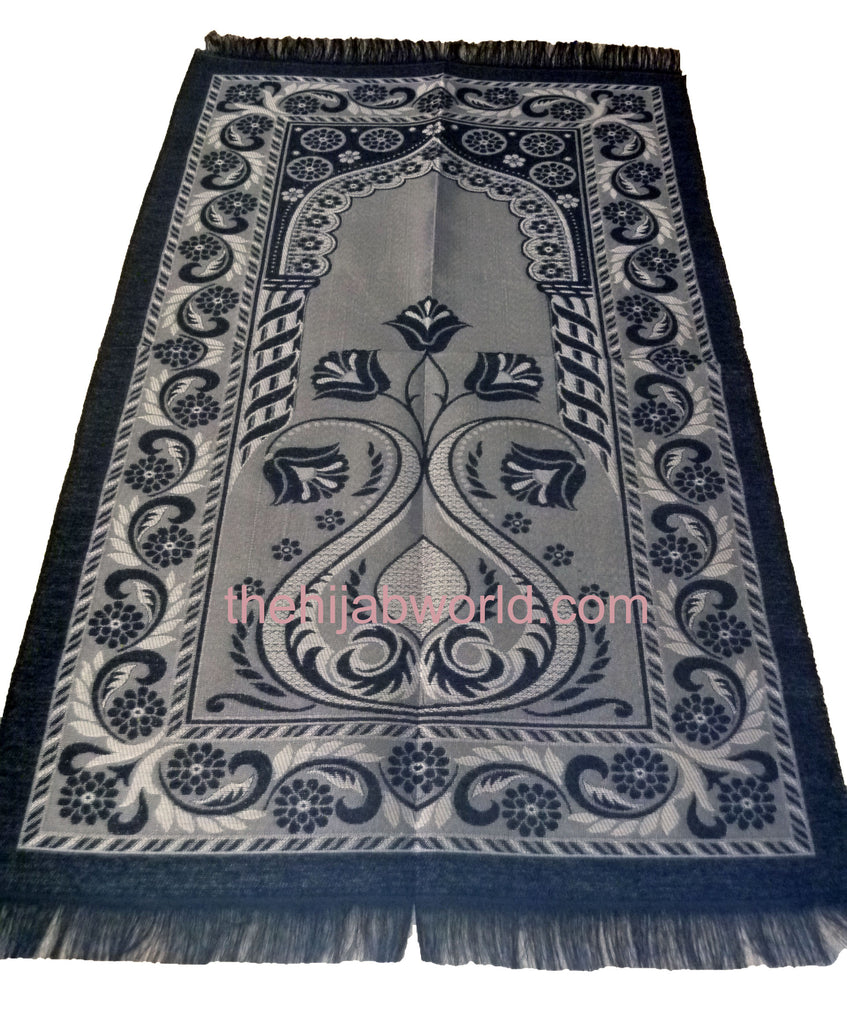 LIGHT WEIGHT PRAYER MAT - BLACK