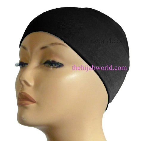 Wide Headband Plain  - Black