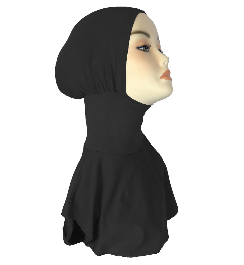 NEW Sports Hijab/ Ninja underscarf - Black