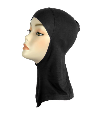 Sports Hijab/ Ninja full underscarf - Black