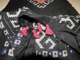 Latest Printed Large Shawl/Scarf  with tassel- Black Mix shade