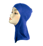 BUY 2 GET 1 FREE!  Sports Hijab/ Ninja underscarf- Royal Blue