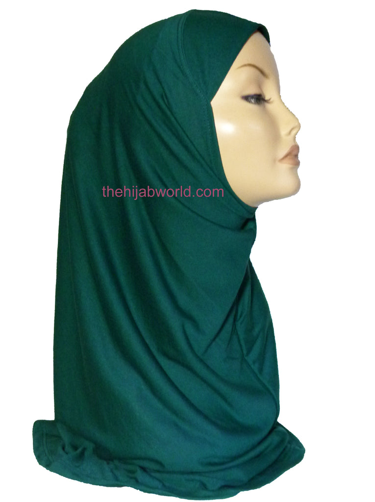 AL AMIRA HIJAB 1 PC. A- BOTTLE GREEN