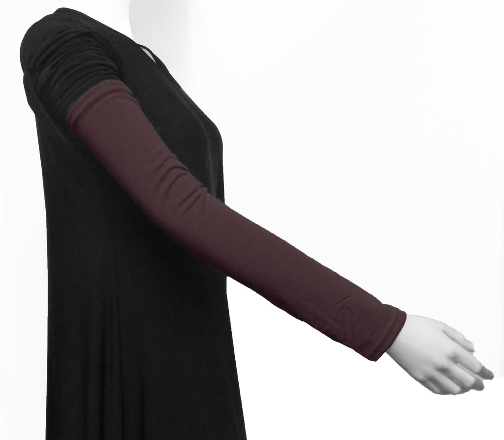Extra Long Arm Cover/Sleeves - LIGHT GREY
