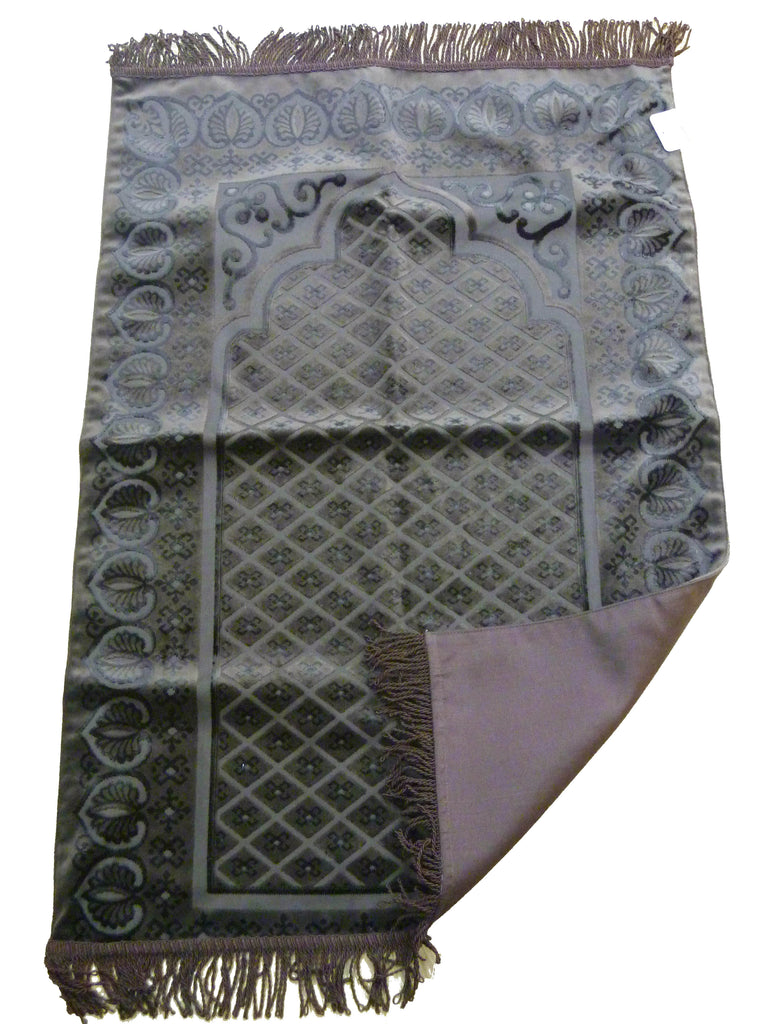 BEAUTIFUL LUXURY PRAYER MAT GG - BROWN
