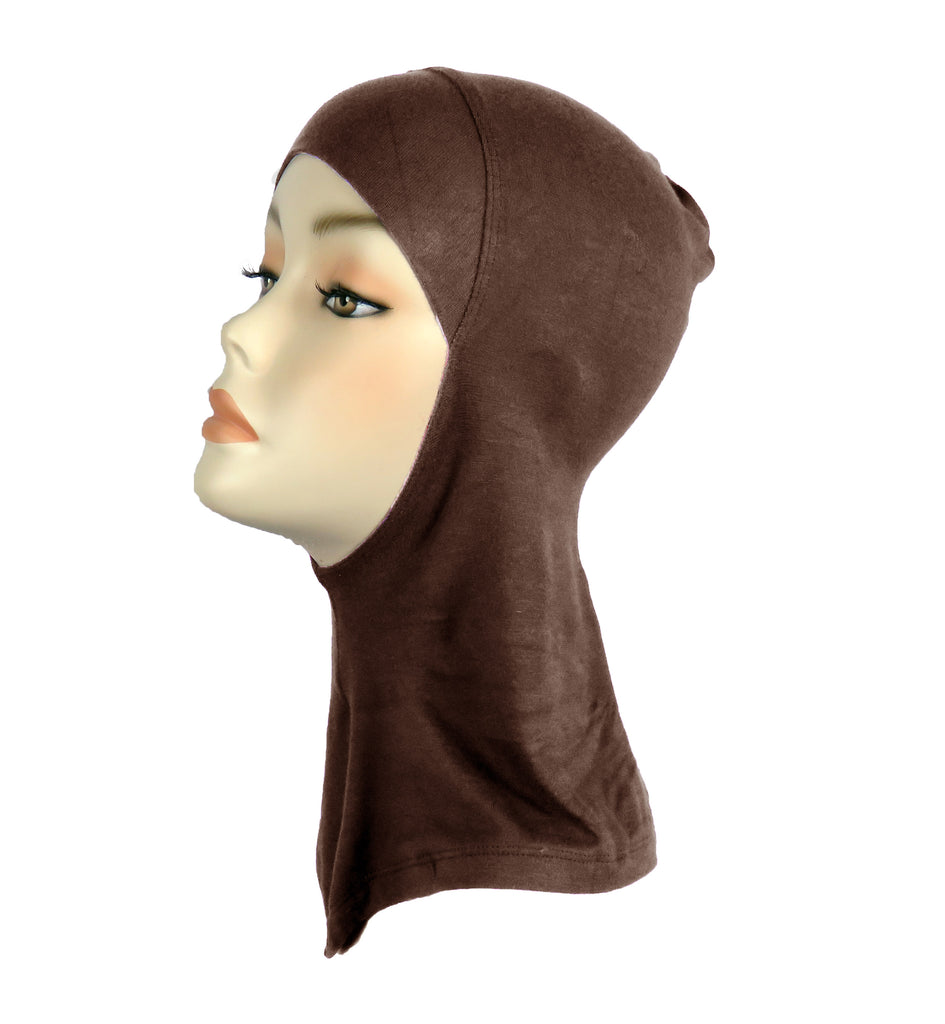 FULL NINJA INNER UNDERSCARF -Dark Brown