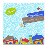 Completing Quran Islamic Greeting Cards ILM03