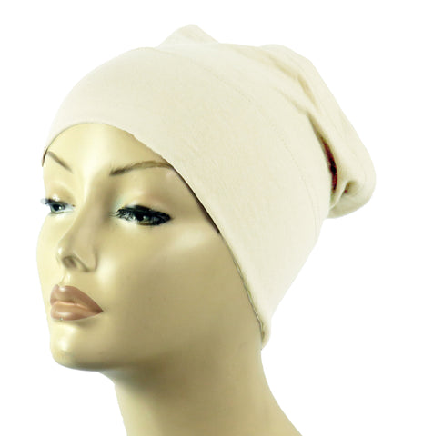 Half Tube Bonnets - Cream