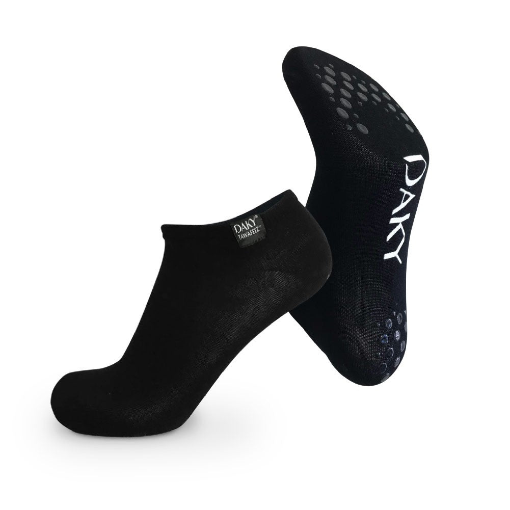 BAMBOO SOCKS WITH GRIP SOLE - DAKY (TAWAFEEZ) TAWAF SOCKS